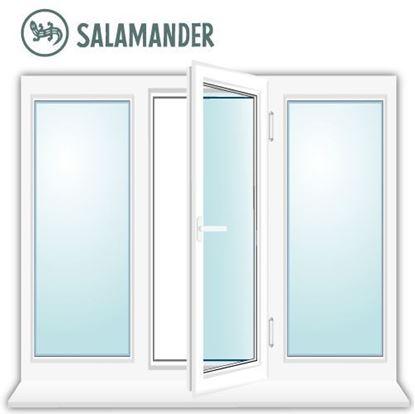 Изображение Трехстворчатое окно Salamander