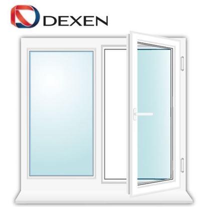 Изображение Двухстворчатое окно DEXEN