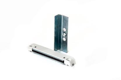Изображение Магнитная балконная защелка (ручка,защелка, саморезы) 9 и 13 ось